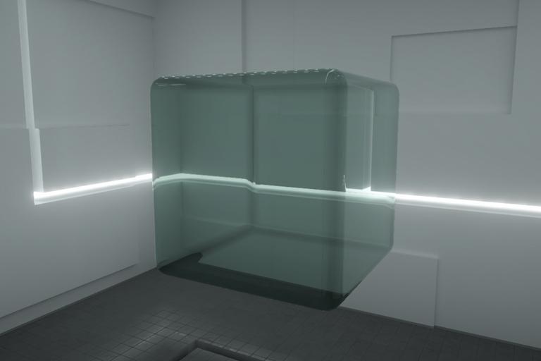 Unity シェーダー ガラス